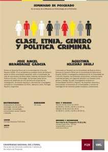 UNL_-_FCJS_-_Seminario_Clase,_Etnia,_Genero_y_Politica_Criminal