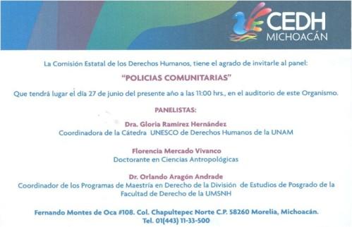 CEDH Policias Comunitarias