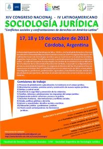 AFICHE CONGRESO DE SOCIOLOGIA NARANJA