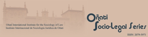 Oñati Socio-Legal Series