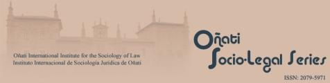Oñati Socio-Legal Series