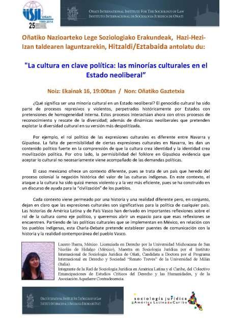 Lucero Ibarra _ hitzaldia