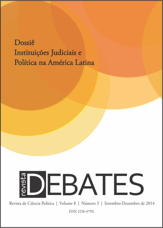 Resultado de imagem para instituições judiciais e politica na america latina revista debates