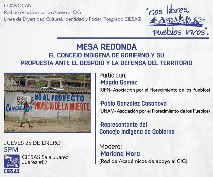 Invitación Mesa Redonda enero 25-01